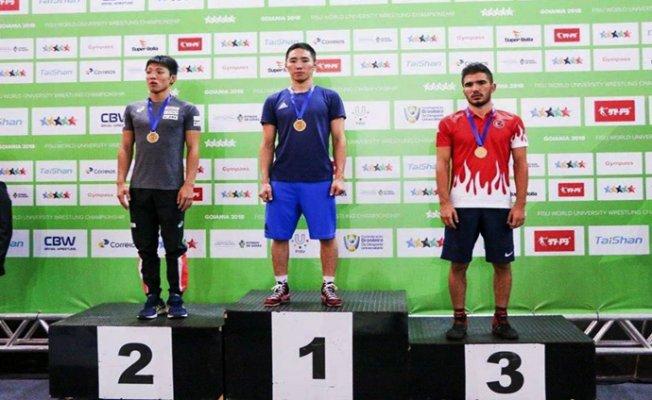 Tarsus'lu Mehmet Üniversitelerarası Dünya Şampiyonasında Dünya 3.sü Oldu.