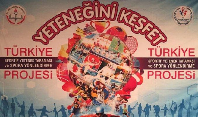 Türkiye Sportif Yetenek Taraması Seçmeleri 1 Ekim'de