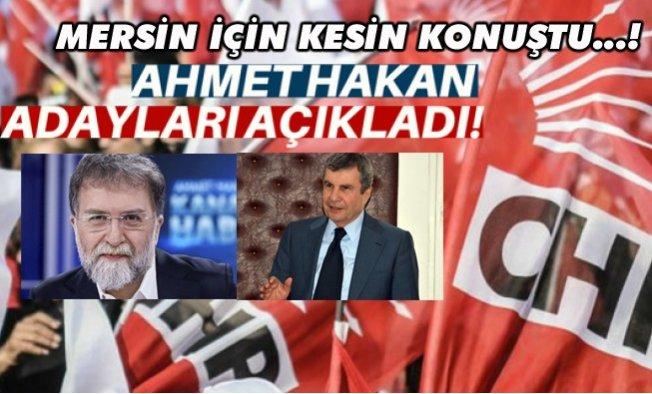Ahmet Hakan, CHP'nin Mersin Büyükşehir Belediye Başkan Adayını İşaret Etti.