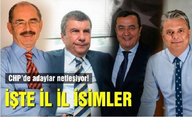 CHP'nin Belediye Başkan Adayları Belli Gibi...