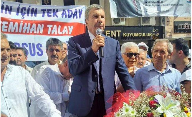 İstemihan Talay, Tarsus'da Coşkulu Kalabalığa Adaylığını Açıkladı
