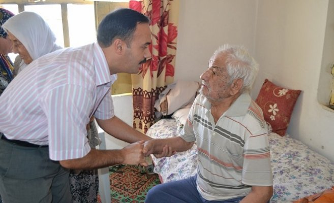 Kaymakam Taşdan, 93 Yaşındaki Kore Gazisini Ziyaret Etti