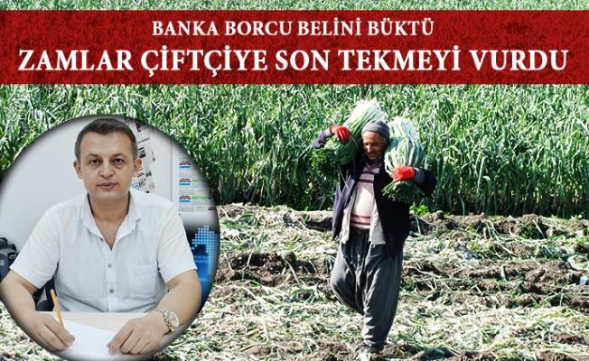 Mersin'de Çifçi Tarlalarını Elden Çıkarıyor