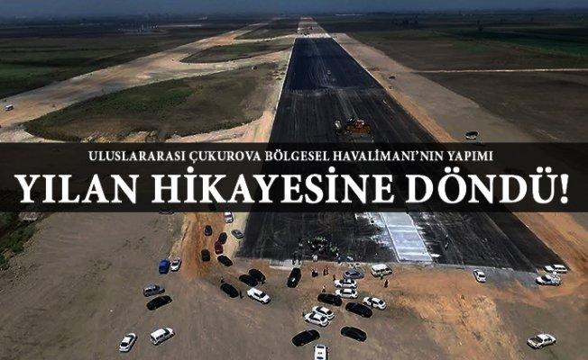 Mersin'de Havalimanı İnşaatı Bir kez Daha Durdu