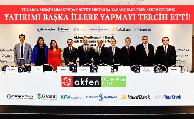 Mersin'de Kazanılan Para 5 Kente Yatırım Oldu
