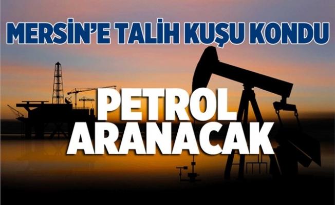 Mersin'de Petrol Aranacak