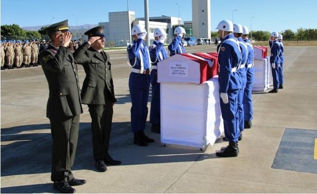 Mersin'in Tunceli'de Donarak Şehit Olan Aslanlarına Elazığ'da Tören
