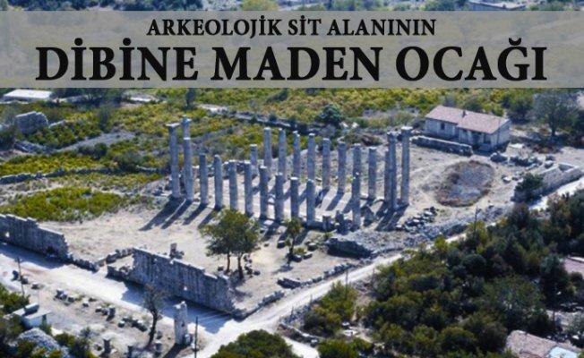 Mersin'de 1.Derece Arkeolojik Sit Alanının Dibine Mermer Ocağı Kuruluyor.