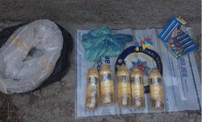 Polise Saldırmak İçin Hazırlanan Bombalar Ele Geçirildi