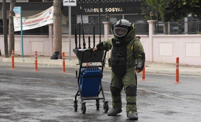 Şüpheli Sırt Çantası Polisi Alarma Geçirdi