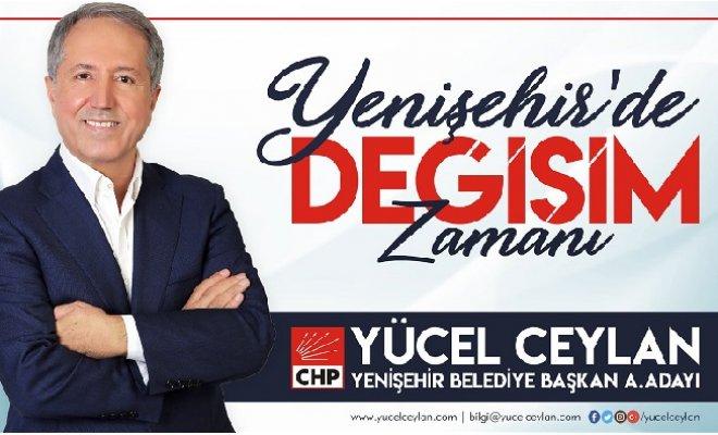Yücel Ceylan, Yenişehir'de Ön Seçim ve Değişim İstedi.
