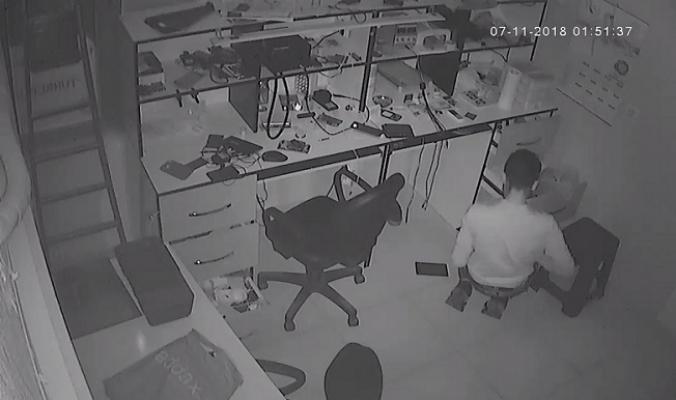 Alarm Çalmasına Rağmen Hırsızlığa Devam Etti