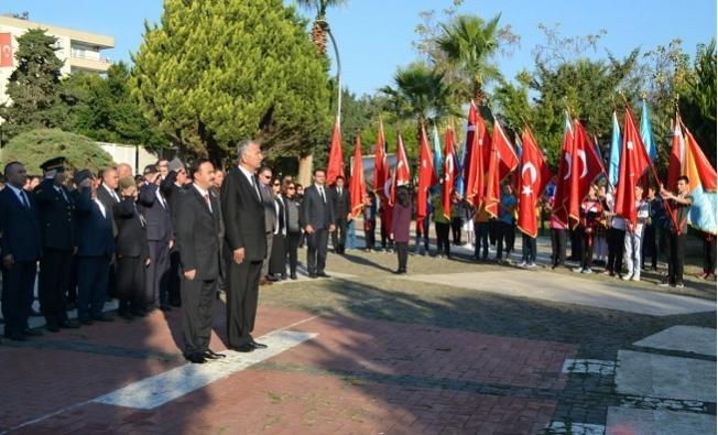 Atatürk, Bozyazı'da Düzenlenen Törenle Anıldı