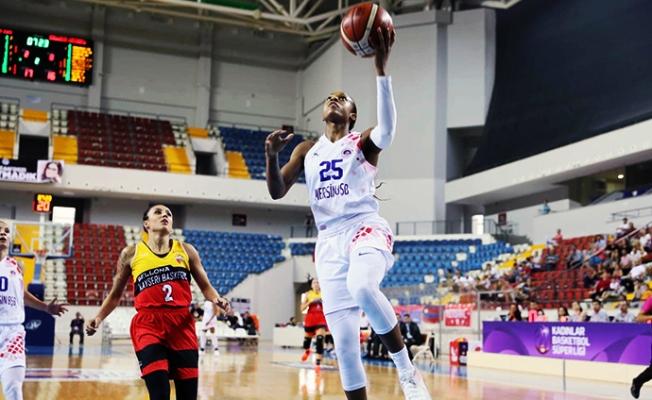 Mersin BŞB Kadın Basketbol Takımı, Avrupa'da da Hüsran Yaşıyor.
