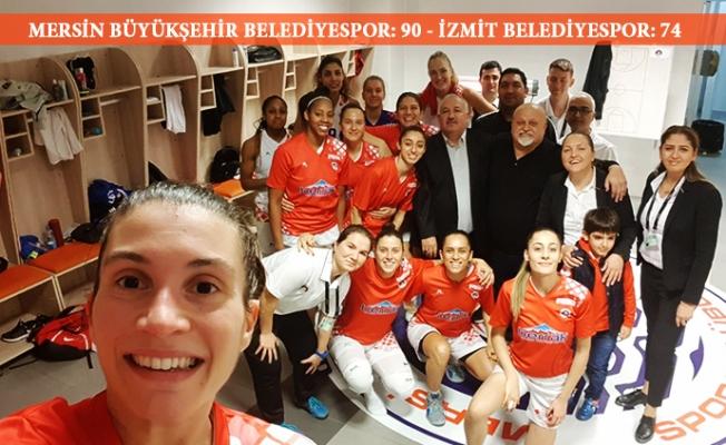 Mersin Büyükşehir Belediyespor,  İzmit Belediyespor'u 90-74 Yendi.