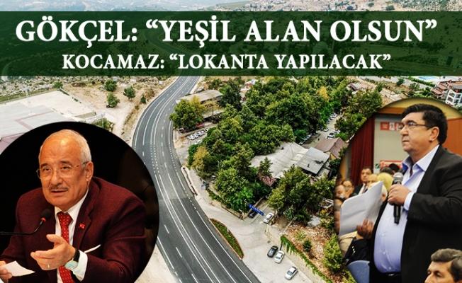 Mersin Büyükşehir Meclisinde Yeşil Alan Tartışması