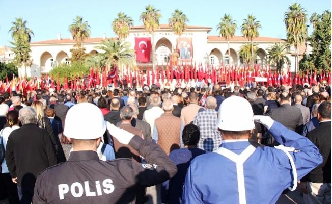 Mersin'de 7'den 70'e Herkes Atatürk'ü Andı