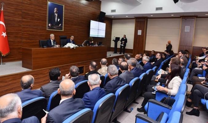 """Mersin'de """"Bağımlılık İle Mücadele Koordinasyon Kurulu"""" Toplandı"""
