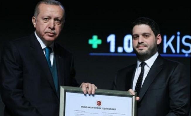 Mersin'de Mesut Yılmaz'ın Oğluna Süper Teşvik