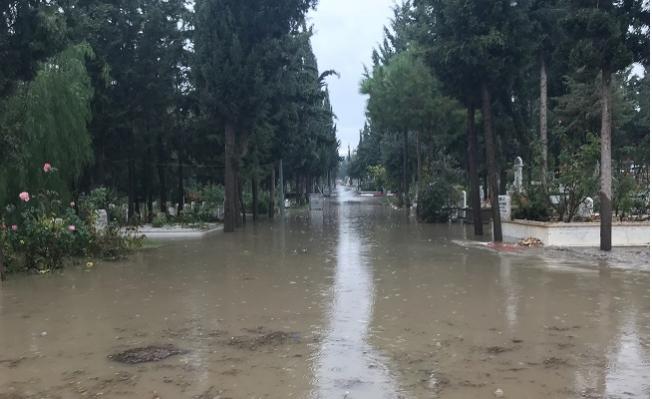 Mersin'de Mezarlar Sular Altında