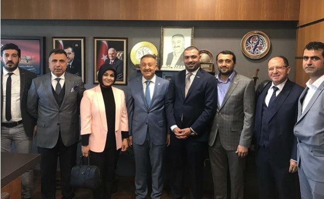MÜSİAD Mersin Yönetimi Ankara'da Milletvekilleriyle Görüştü