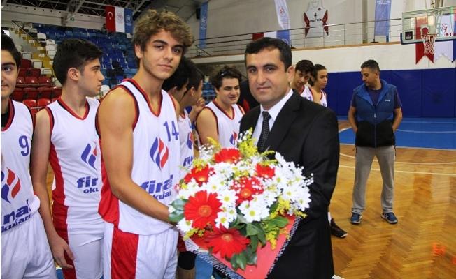 Okul Sporları Genç Erkekler Basketbol Müsabakaları Başladı