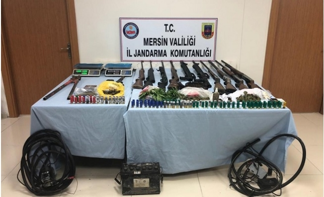 Tarsus'ta Uyuşturucu Operasyonu: 3 Gözaltı