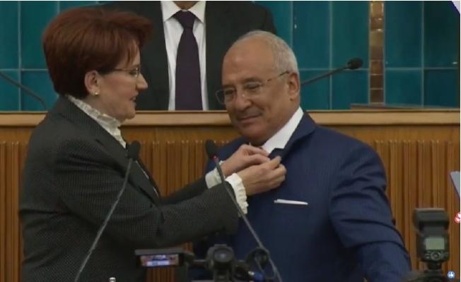 Burhanettin Kocamaz Resmen İYİ Parti'nin Mersin Başkan Adayı
