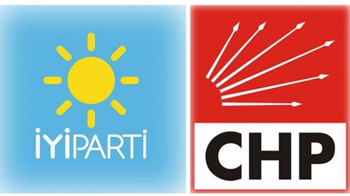 CHP-İYİ Parti 5 İlçeye Kilitlendi