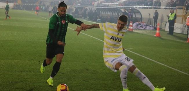 Fenerbahçe Deplasmanda Akhisar'a Yenildi