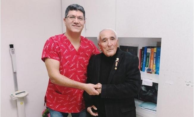 Kore Gazisine 68 Yıl Sonra Silah Arkadaşının Oğlundan Şifa