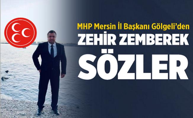 MHP Mersin İl Başkanı, Kocamaz'a Cevap Verdi.
