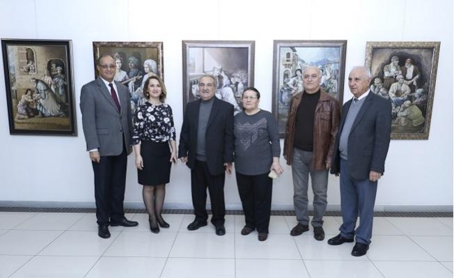 Sağlamçelik, İlk Sergisini MTSO Sanat Galerisinde Açtı