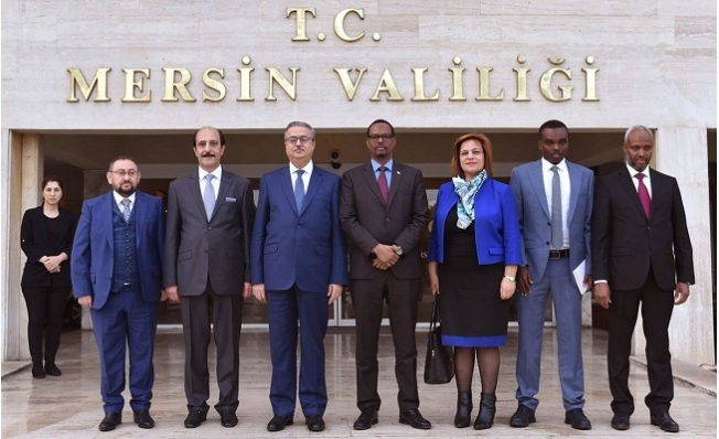 Somali ve Ürdün Büyükelçilerinden Vali Su'ya Ziyaret