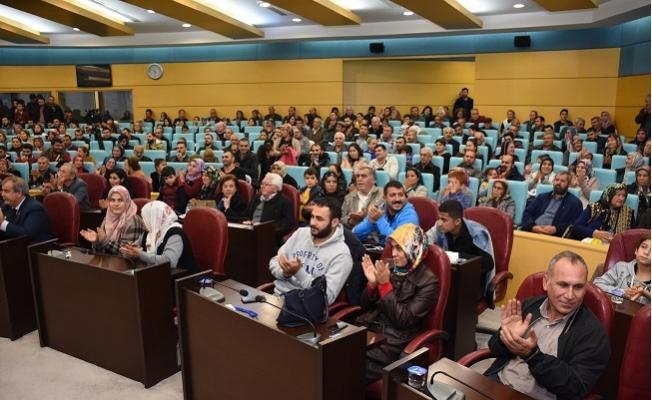 Tarsus Belediyesi'nde Toplu Konut İçin Kura Heyecanı Yaşandı