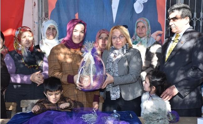 Tarsus'ta Girişimci Kadınlara Lavanta Desteği