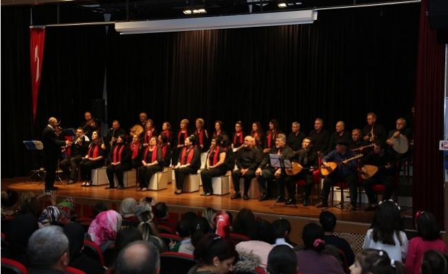 Çağdaş Türk Müziği Korosu ve Çocuk Korosu ilk Konserini Gerçekleştirdi