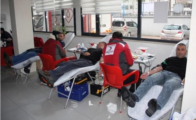 Gençlik ve Spor İl Müdürlüğü Personelinden Kan Bağışı