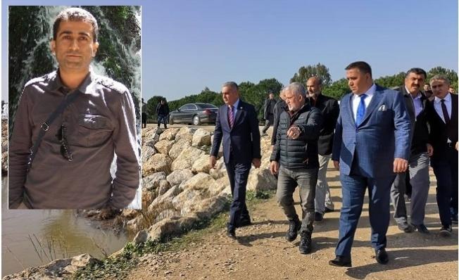 Mersin'de Sulama Kanalına düşenNihat Kaylı'yı Arama Çalışmaları Sürüyor