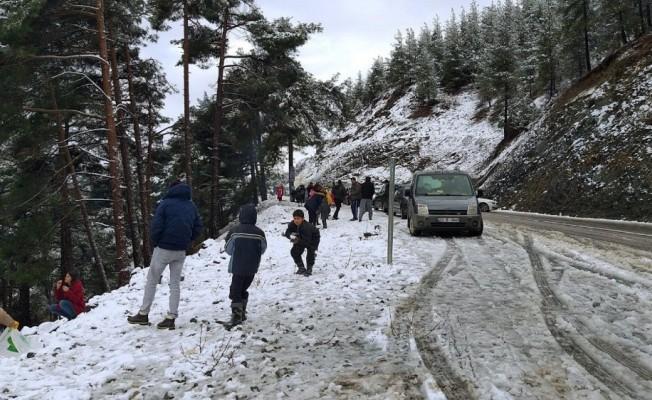 Mersin'de Taşımalı Eğitime Kar Engeli