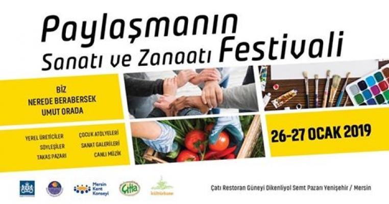 Mersin'de Paylaşma Geleneği Festivalle Yaşatılacak