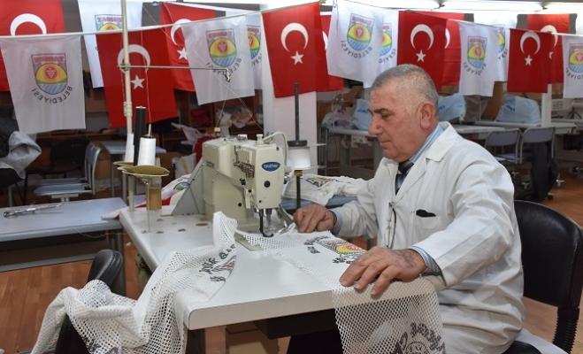 Meslek Edindirme Merkezi, Tekstil Fabrikası Gibi Çalışıyor