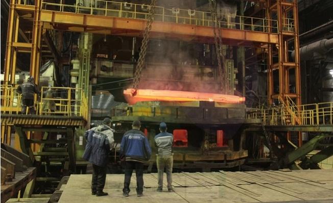 Akkuyu NGS'nin İlk Reaktörünün Basınç Tankının Tabanını Atommash Üretti