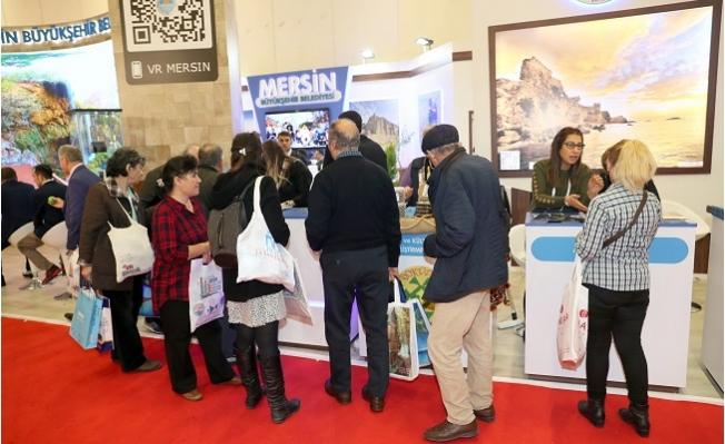 Büyükşehir Belediyesi, EMITT Fuarında Mersin'i Tanıtıyor