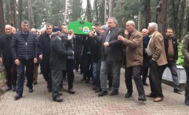 İntihar eden Ziraat Odası Başkanının Cenazesi Defnedildi