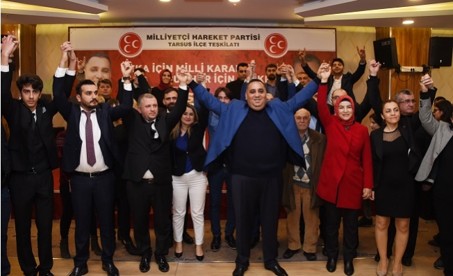 Tarsus'da İYİ Parti'den 297 kişi MHP'ye Geçti