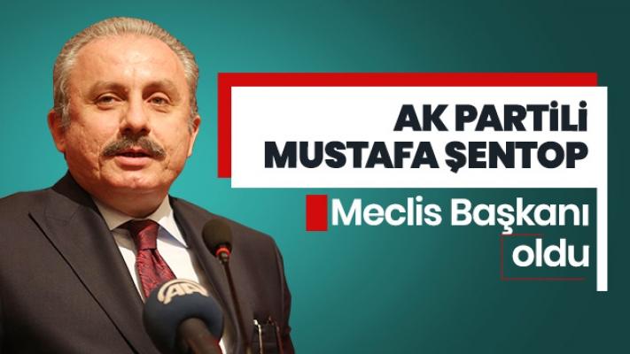 Meclis'in Yeni Başkanı AK Partili Mustafa Şentop Oldu