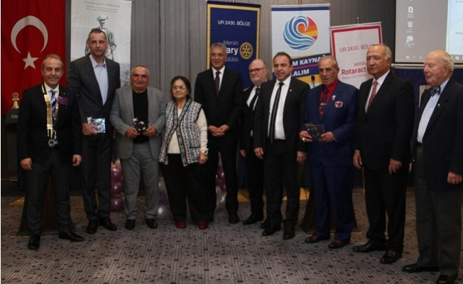 Mersin Rotary Kulübü Meslek Ödülleri Dağıtıldı