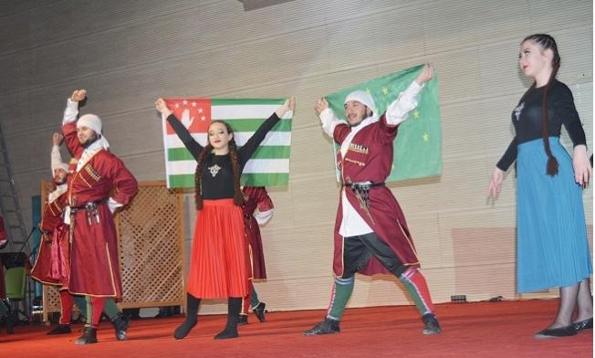 Mersin'deki Kafkaslar Kardeşlik Gecesinde Buluştu