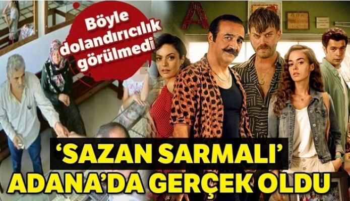 """""""Organize İşler 2 Sazan Sarmalı"""" Filmi Adana'da Gerçek Oldu"""